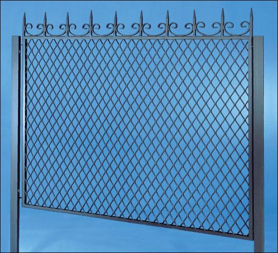 Recinzioni in rete stirata larp srl unipersonale for Oscuranti per recinzioni