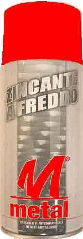 Brochure Bombolette zinco spray
