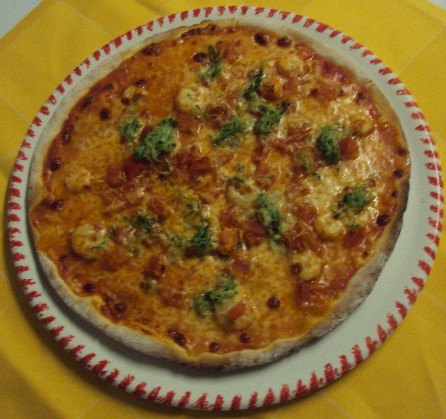 PIZZA PRINCIPESSA SENZA GLUTINE