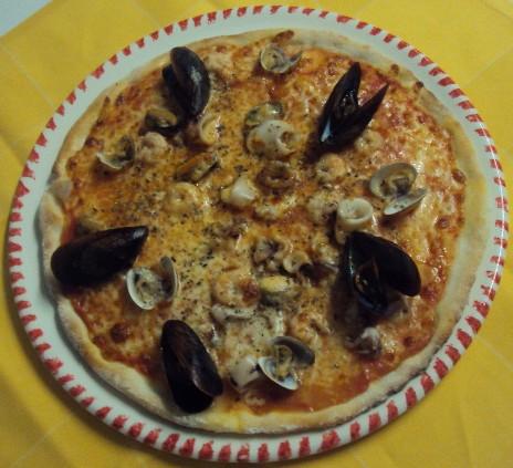 PIZZA SCOGLIO SENZA GLUTINE