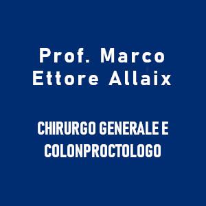 Colonproctologo a Torino. Chiama PROF. MARCO ETTORE ALLAIX cell 3339372512