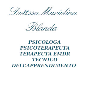 Psicologo a Palermo. DOTT.SSA MARIOLINA BLANDA cell 3299864181