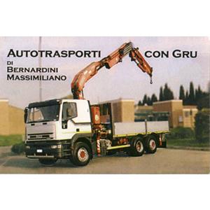 MASSIMILIANO BERNARDINI - AUTOTRASPORTI CON GRU
