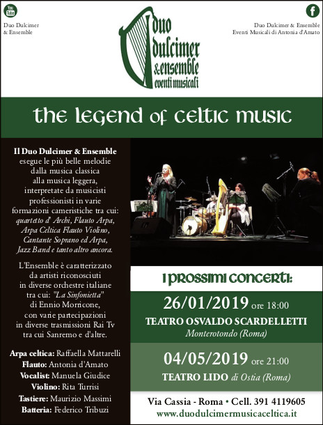 Duo Dulcimer Ensemble The Legend of Celtic Music