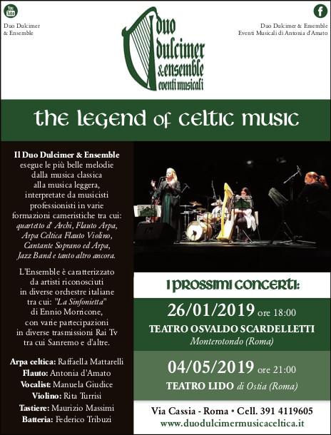 Duo Dulcimer Ensemble The Legend of Celtic Music