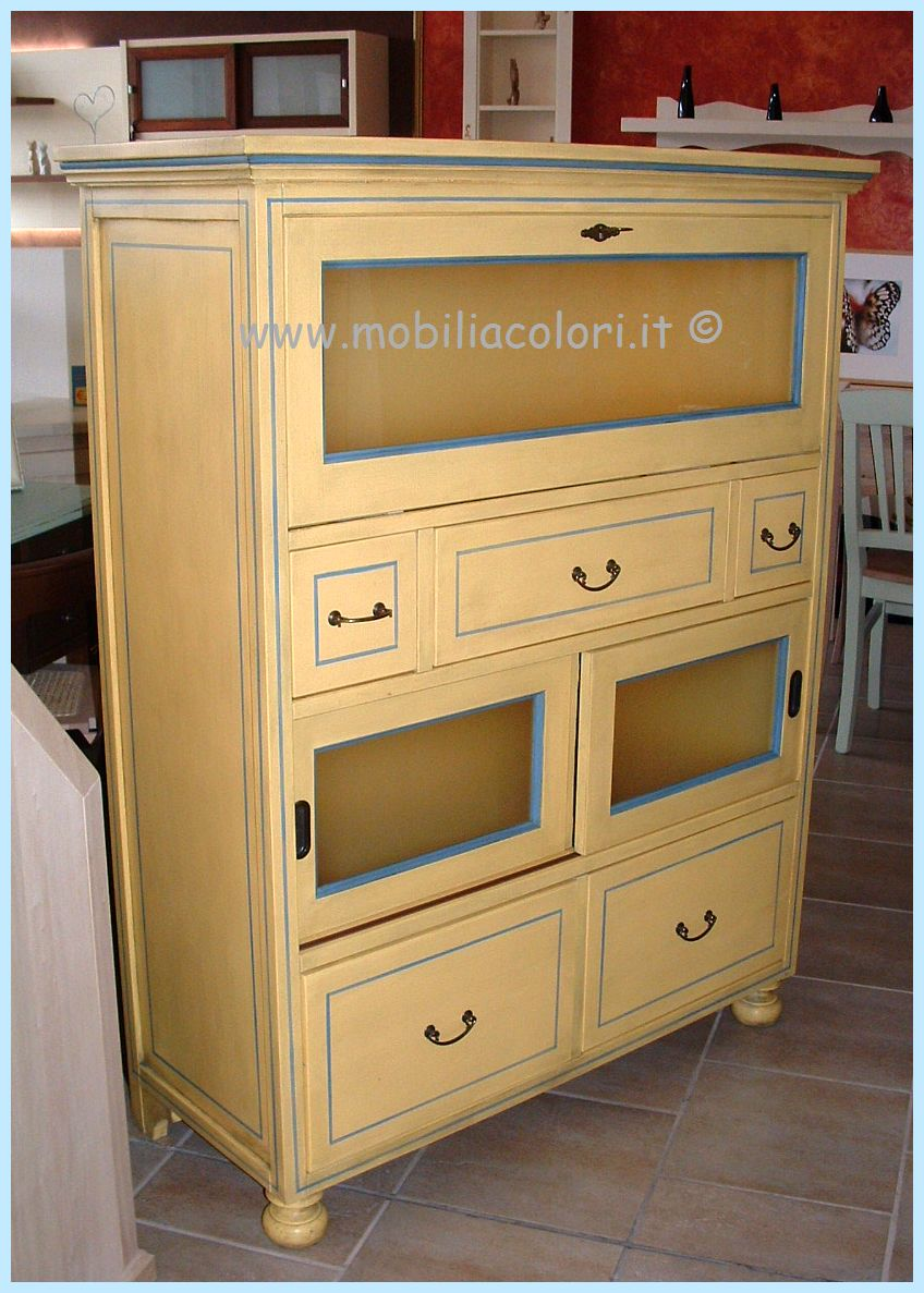 Dispense mobili a colori - Iva sui mobili ristrutturazione ...