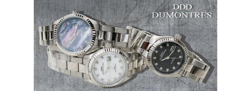 Orologi acciaio donna quarzo Dumontres