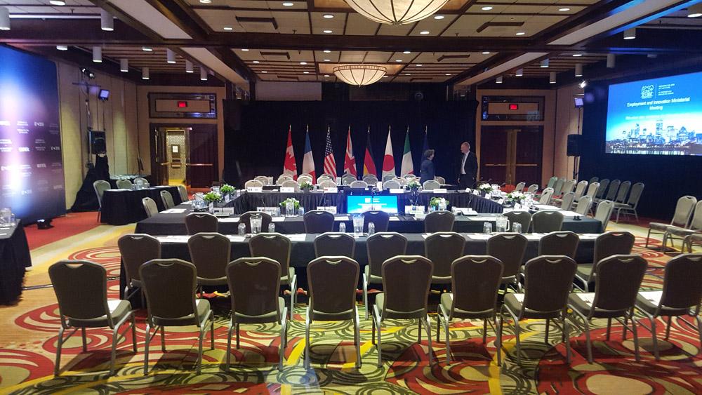 Preparazione del G7 di Charlevoix
