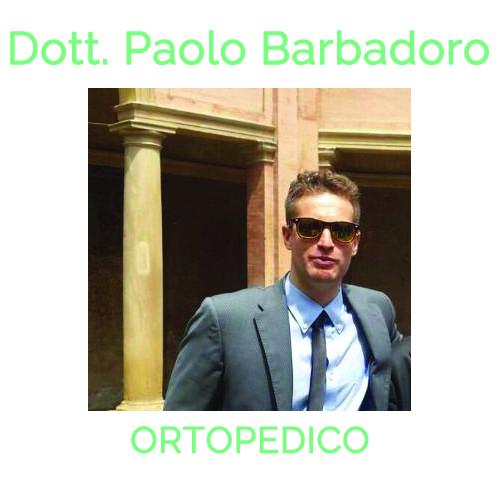 Ortopedico a Bologna. Rivolgiti a DOTT. PAOLO BARBADORO tel 051 362089 cell 338 128 3679