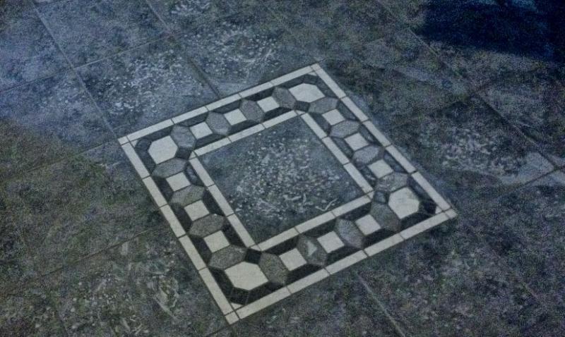 Realizzazione mosaici a Forni di Sopra. ARTIGIANO EDILE PIASTRELLISTA STEFANO COZZI cell 347 2105619