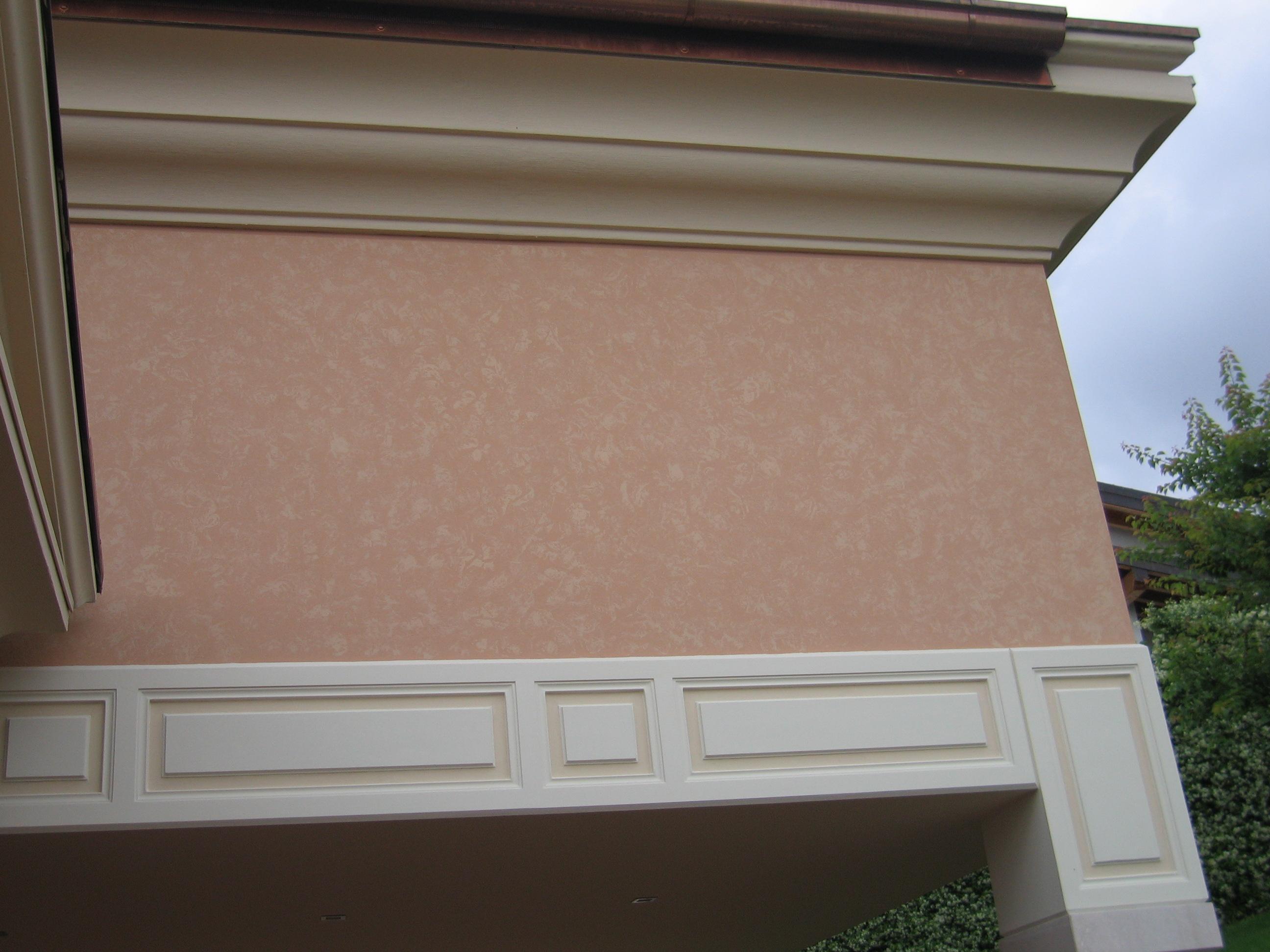 Tinteggiatura villa