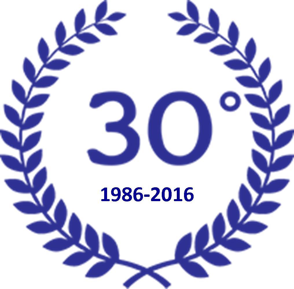 30 ° 1986-2016