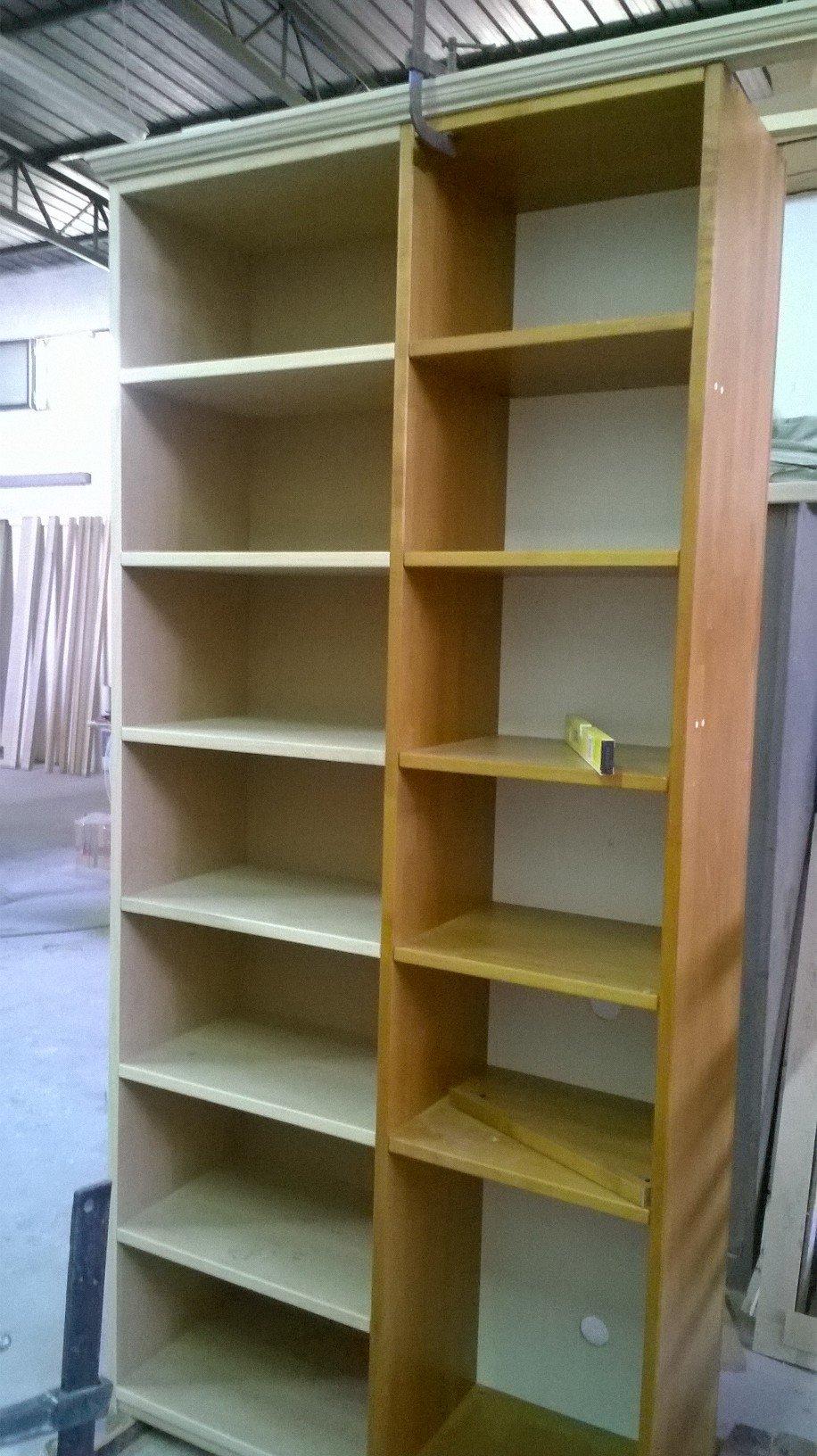 Libreria durante la modifica