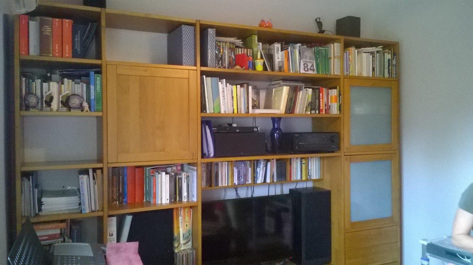 Libreria prima della modifica