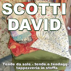 SCOTTI DAVID TAPPEZZIERE IN STOFFA