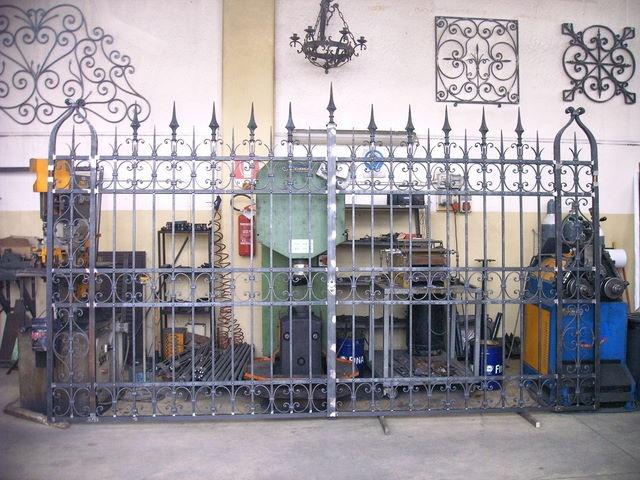 Cancelli in ferro forgiato