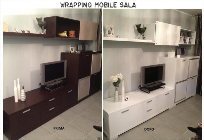 Wrapping decorazioni adesive per rinnovo di arredi muri for Decorazioni adesive per mobili