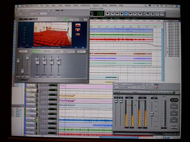 Software registrazione audio e sequencing