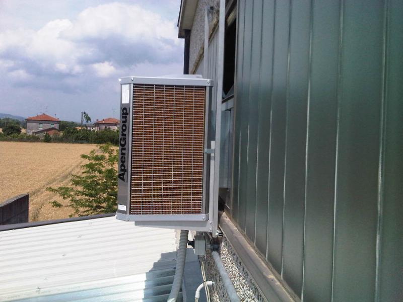 Raffrescatori Evaporativi:Installazioni effettuate