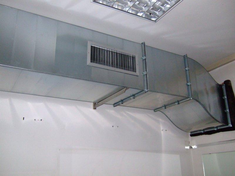 Canalizzazioni aria condizionata UTA