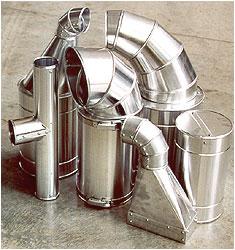 Coibentazione tubazioni e canalizzazioni con coppelle in alluminio