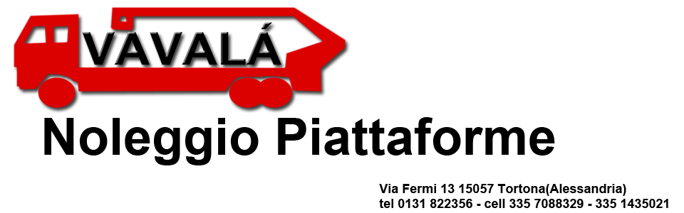 VAVALA' POLLUCE  MAGGIORINO  Noleggio Piattaforme Aeree