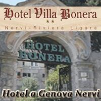 HOTEL A GENOVA. RIVOLGITI ALL'HOTEL VILLA BONERA SRL TELEFONA ALLO:010 3726164