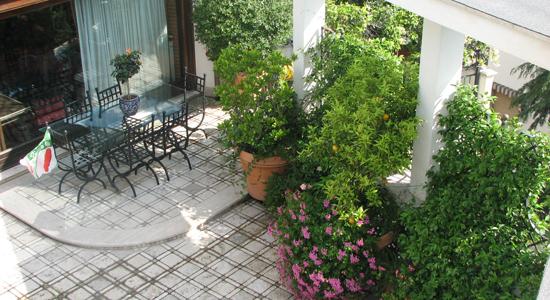 Realizzazione terrazzi e verde pensile
